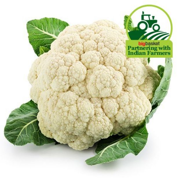 Fresho Cauliflower offer at ? 11.88