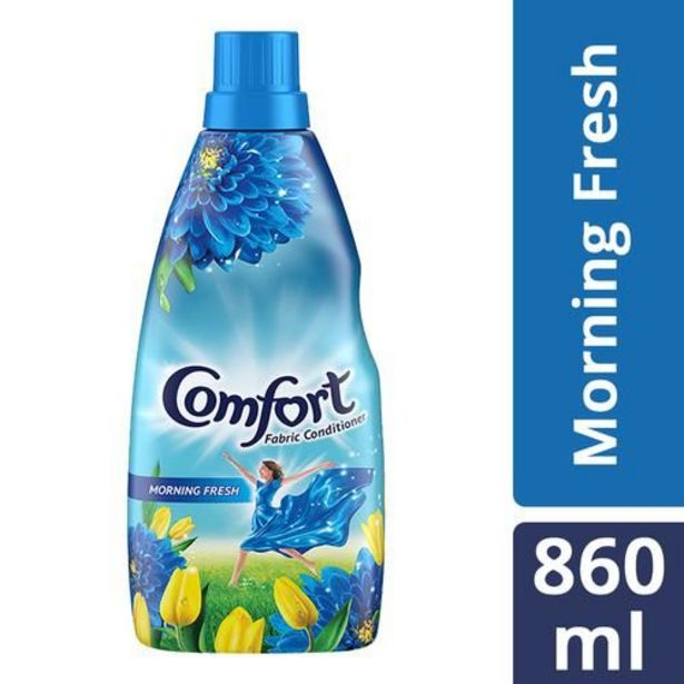 Comfort After Wash Morning Fresh Fabric Conditioner offer at ? 202