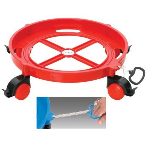 Ritu Plastic Cylinder Trolley - Assorted Colour offer at ? 219