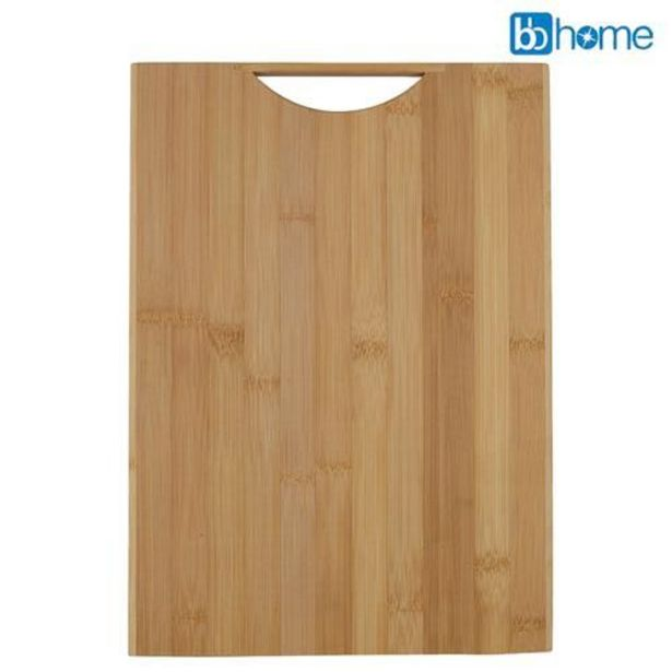 BB Home Chopping Board With Handle - Bamboo Wood, BH 103 offer at ? 349