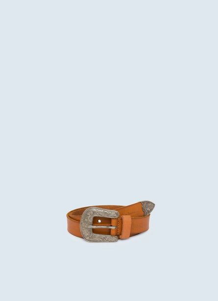 NORA  BELT WITH EMBOSSED BUCKLE offer at ? 2400