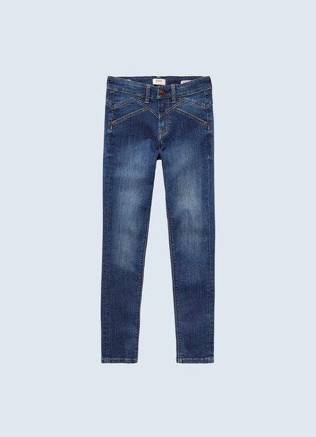 PIXLETTE HIGH ARCHIVE SKINNY FIT MID WAIST JEANS offer at ? 4050
