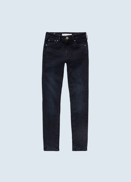 PIXLETTE HIGH SKINNY FIT MID WAIST JEANS offer at ? 4700