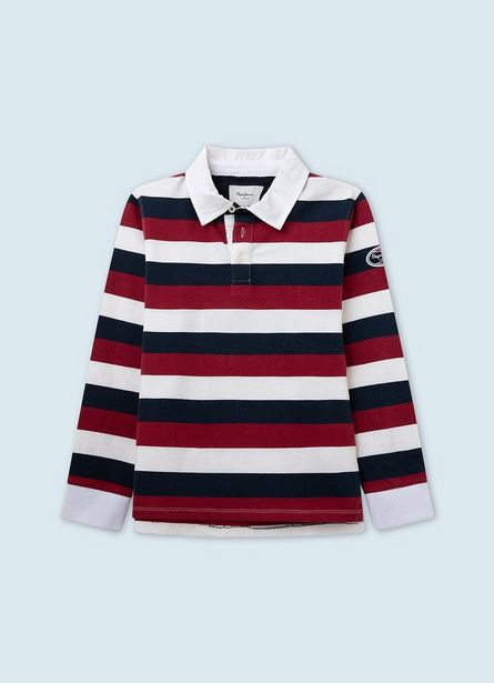 PETER RUGBY STYLE POLO offer at ? 6.2