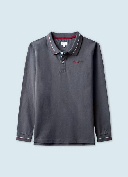 PHILLIP POLO SHIRT WITH DETAILS offer at ? 3.35