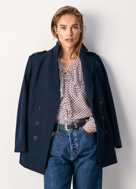 DANIELA NAVY STYLE JACKET offer at ? 19.9