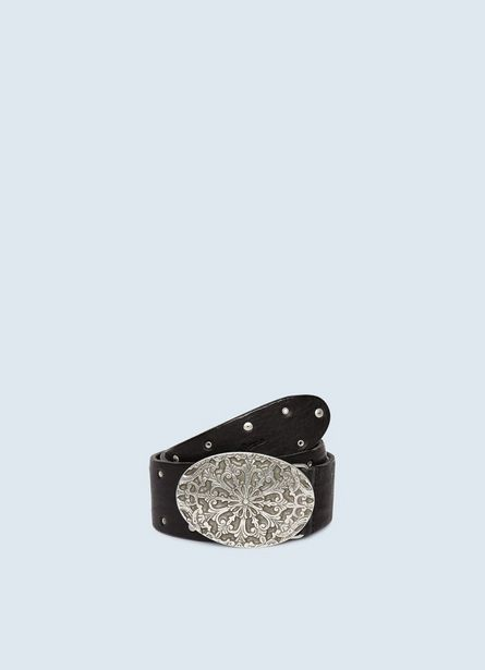 KRINTIN  BELT WITH EMBOSSED BUCKLE offer at ? 5350