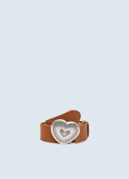 MACY  BELT WITH EMBOSSED BUCKLE offer at ? 4300