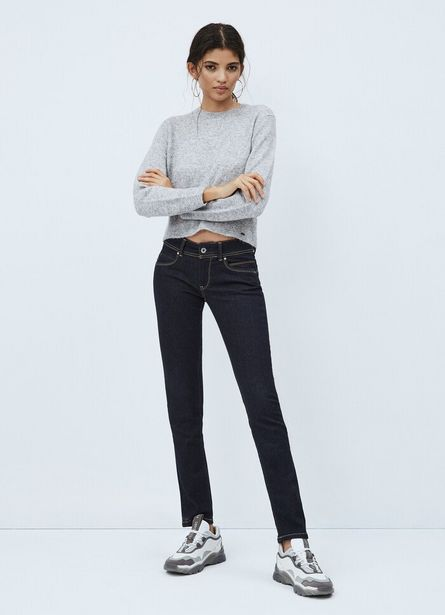 NEW BROOKE SLIM FIT MID WAIST JEANS offer at ? 7750