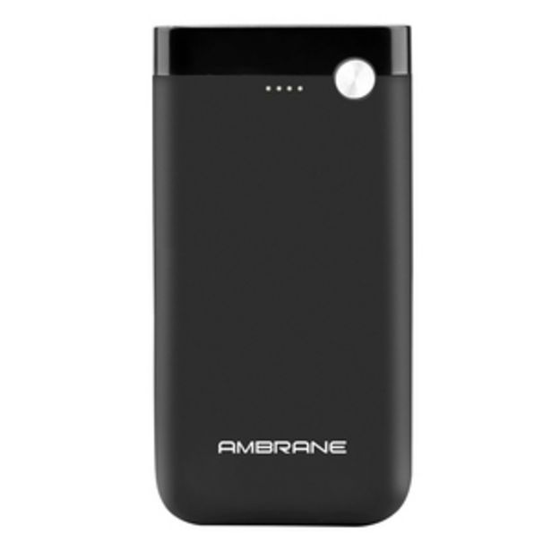 Ambrane 10000 mAh Power Bank, PP11 with Dual USB Ports, Black offer at ? 799