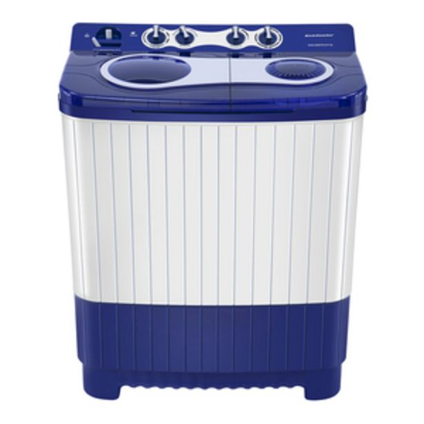 Kelvinator 8 kg Top Loading Semi-Automatic Washing Machine with 3D Aqua clean and Memory Backup, KWS-A800TB offer at ? 10790
