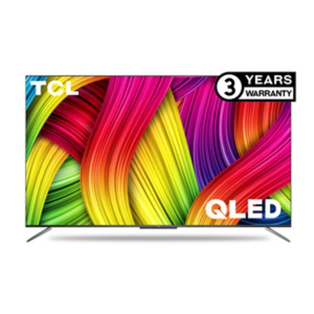 TCL 122.8 cms (55 Inch) Ultra HD (4K)  Android Smart QLED TV 55C715 offer at ? 60990