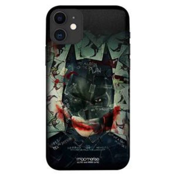 Macmerise Sleek Mobile Case for iPhone 11, Bat Joker offer at ? 499