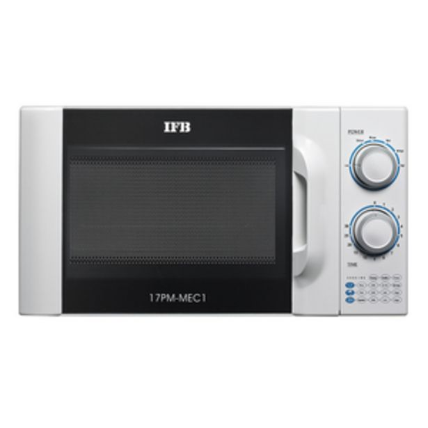 IFB 17 litres Solo Microwave Oven, 17PM-MEC1 White offer at ? 4990