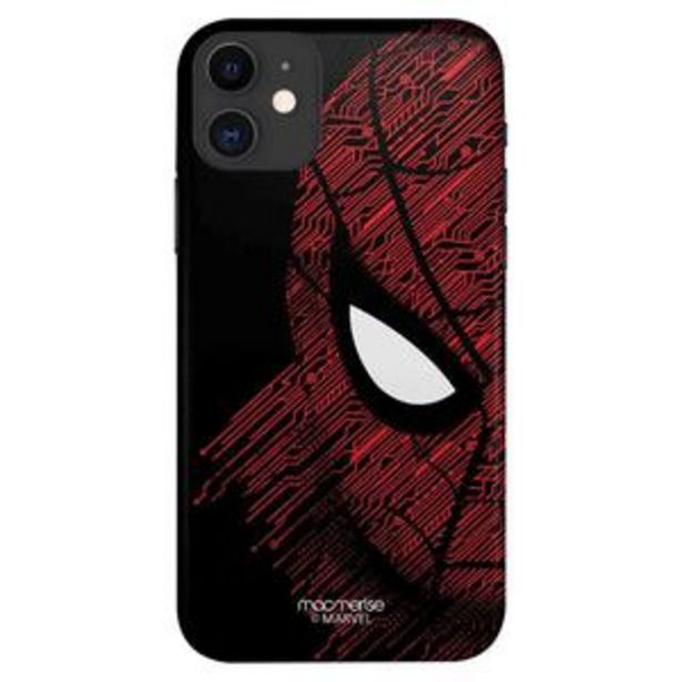 Macmerise Sleek Mobile Case for iPhone 11, Sketch Out Spiderman offer at ? 499