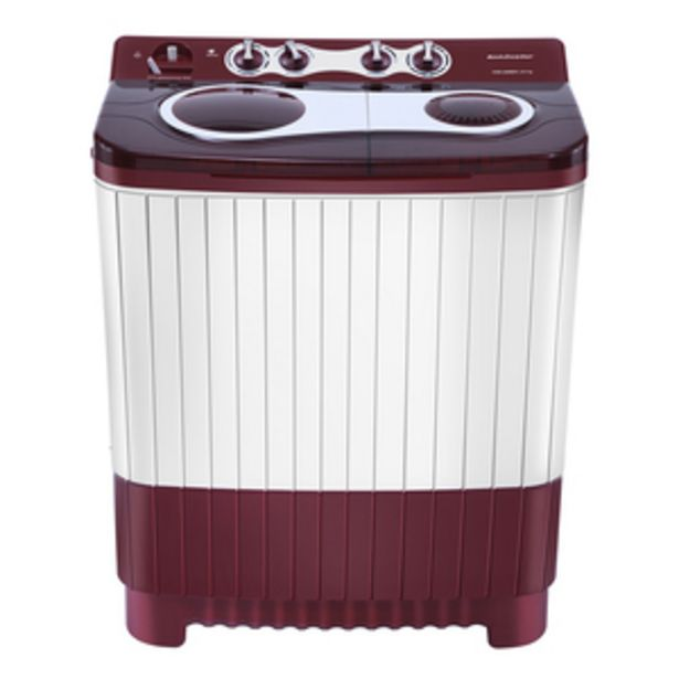 Kelvinator 8 kg Top Loading Semi-Automatic Washing Machine with 3D Aqua clean and Memory Backup, KWS-A800CR offer at ? 10290