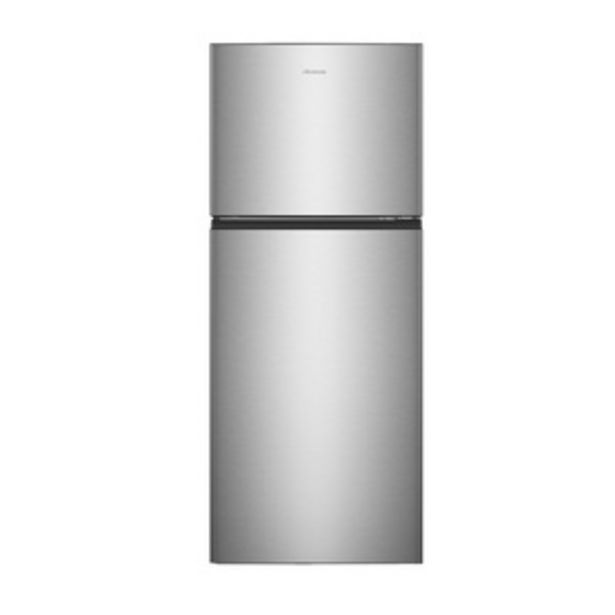 Hisense 411 litres 2 Star Double Door Refrigerator, Stainless Steel RT488N4ASB2 offer at ? 35990