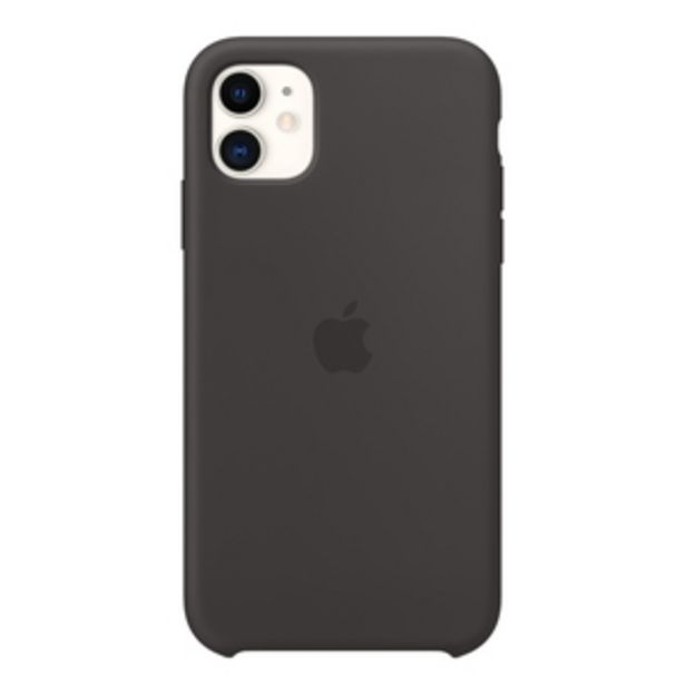 Apple Silicone Mobile Case for Apple iPhone 11, Black offer at ? 3.5