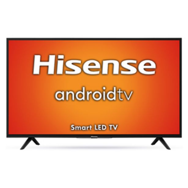 Hisense 108 cm (43 inch) Full HD LED Smart TV, 43A56E offer at ? 23990
