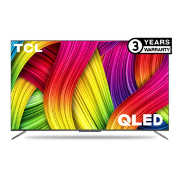 TCL 111.4 cms (50 Inch) Ultra HD (4K) Android Smart QLED TV 50C715 offer at ? 54990