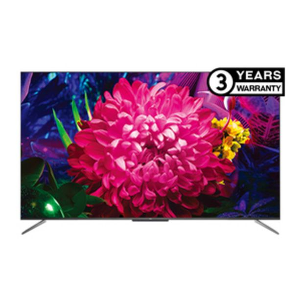 TCL 144.6 cms (65 Inch) Ultra HD (4K)  Android Smart QLED TV 65C715 offer at ? 89990