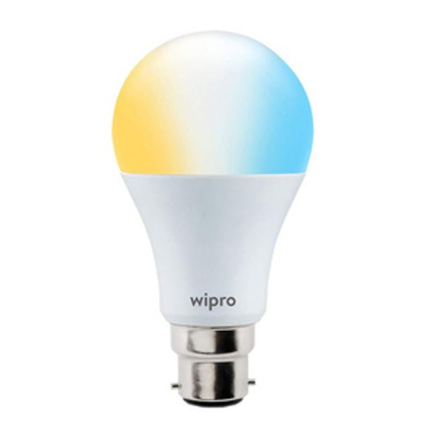 Wipro Garnet 9 Watts CCT NS9100 Smartlights compatible with Amazon Alexa & Google Assistant offer at ? 549