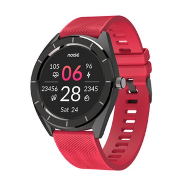 Noise NoiseFit Endure Smart Watch, Racing Red offer at ? 2599