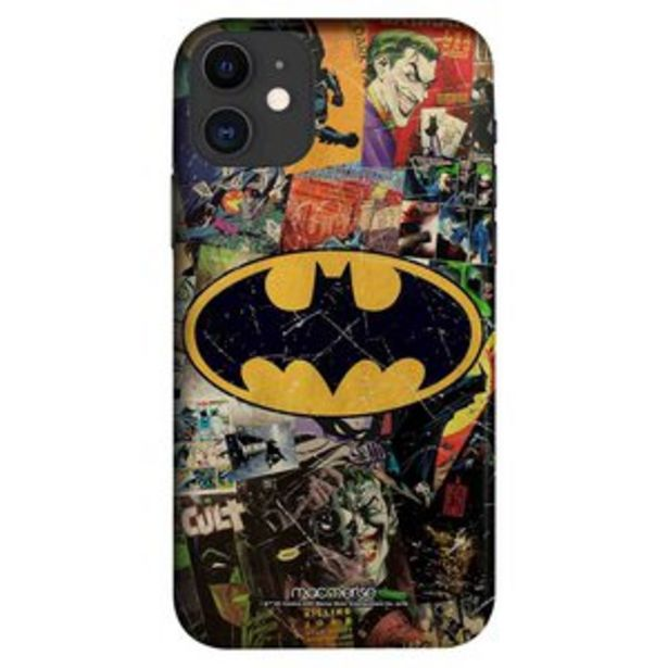 Macmerise Sleek Mobile Case for iPhone 11, Comic Bat offer at ? 499