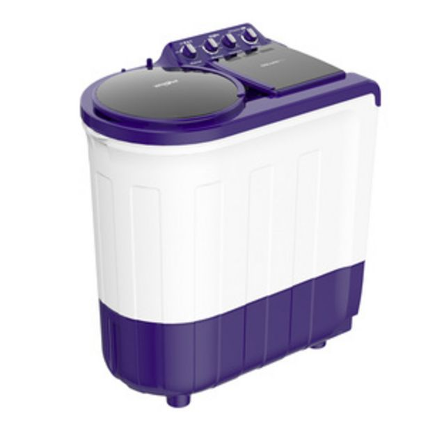 Whirlpool Ace Supersoak 8 Kg Semi Automatic Washing Machine (Supersoak Technology, Coral Purple, 5 Star, 5 Years Warranty) offer at ? 13240