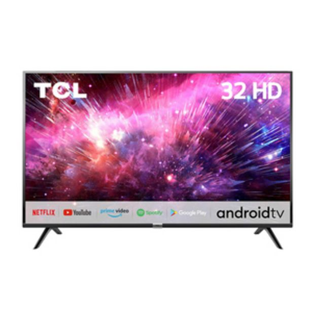 TCL 81.28 cms (32 inch) HD Ready Android Smart LED TV 32S6500S offer at ? 16490