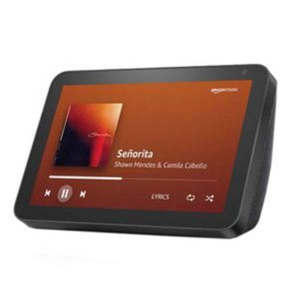 Amazon Echo Show 8 - Smart Display with Alexa - 20.32 cm (8 inch) HD Screen with Stereo Sound, Black offer at ? 8499