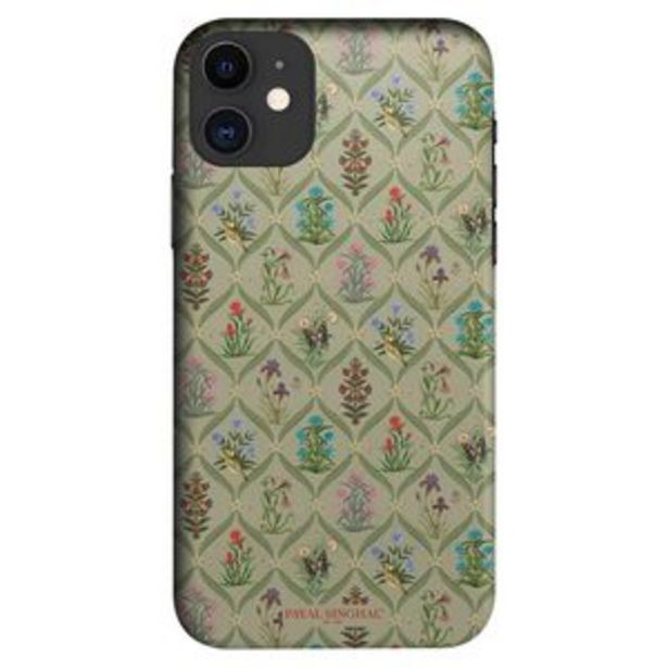 Macmerise Sleek Mobile Case for iPhone 11, Payal Singhal Mughal Motifs offer at ? 499