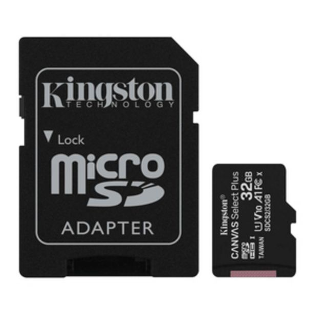 Kingston Canvas Select Plus 32 GB microSDHC Memory Card with Adapter offer at ? 449