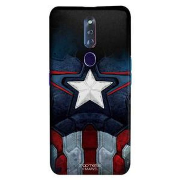 Macmerise Sleek Mobile Case for Oppo F11 Pro, Cap Am Suit offer at ? 499