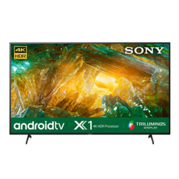Sony Bravia 139 cm (55 inch) 4K Ultra HD Smart Certified Android LED TV 55X8000H (Black) offer at ? 85705