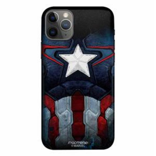 Macmerise Sleek Mobile Case for iPhone 11 Pro, Cap Am Suit offer at ? 499