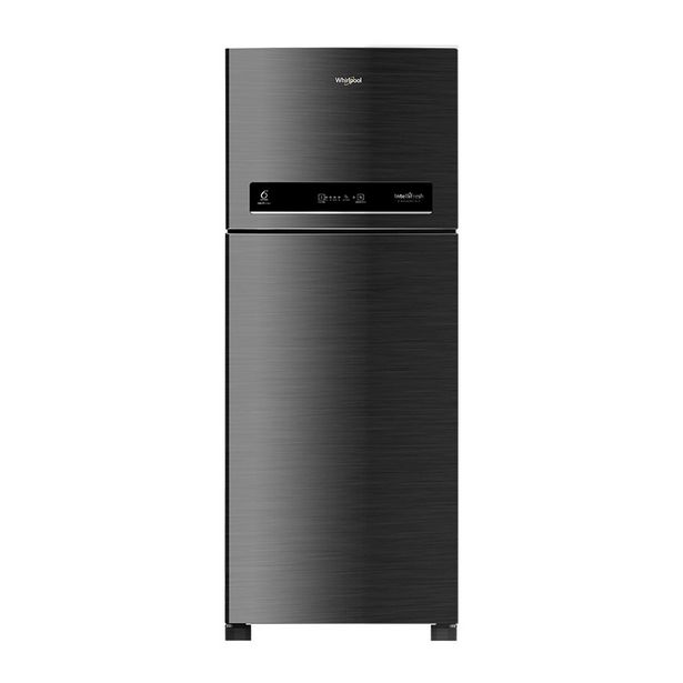 Whirlpool IntelliFresh 265 L Frost Free Double Door Refrigerator(5 In 1 Convertible Freezer, Chromium Black, 2 Star) offer at ? 24490