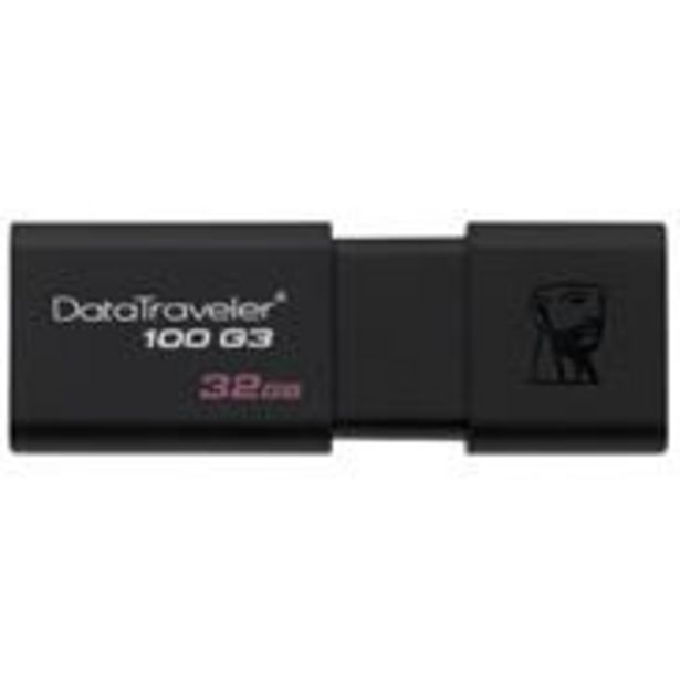 Kingston DT100 G3 USB 3.1 32GB Pendrive offer at ? 499