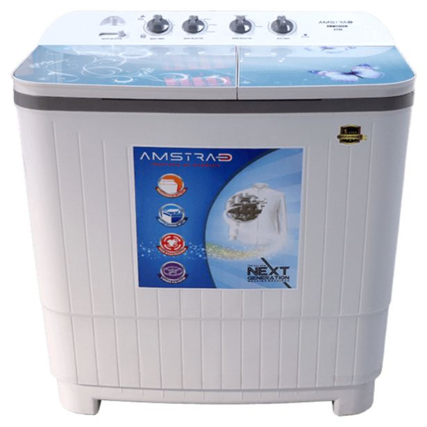 Amstrad 9.0 Kg Semi Automatic Washing Machine (AMWS90GN) offer at ? 12290