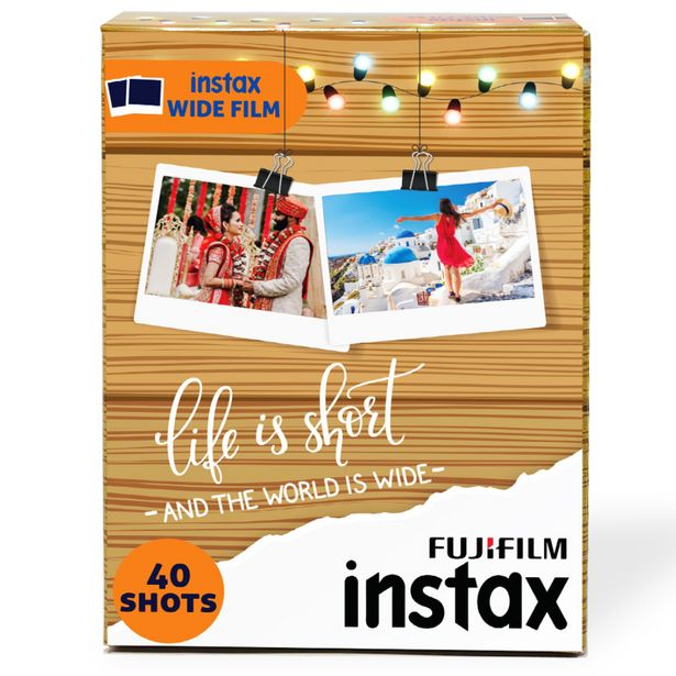 Fujifilm Instax Wide Films Value Pack (40 Shots) offer at ? 2299