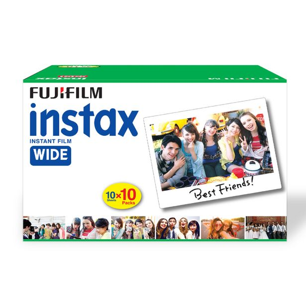 Fujifilm Instax Wide Films Value Pack (100 Shots) offer at ? 5199