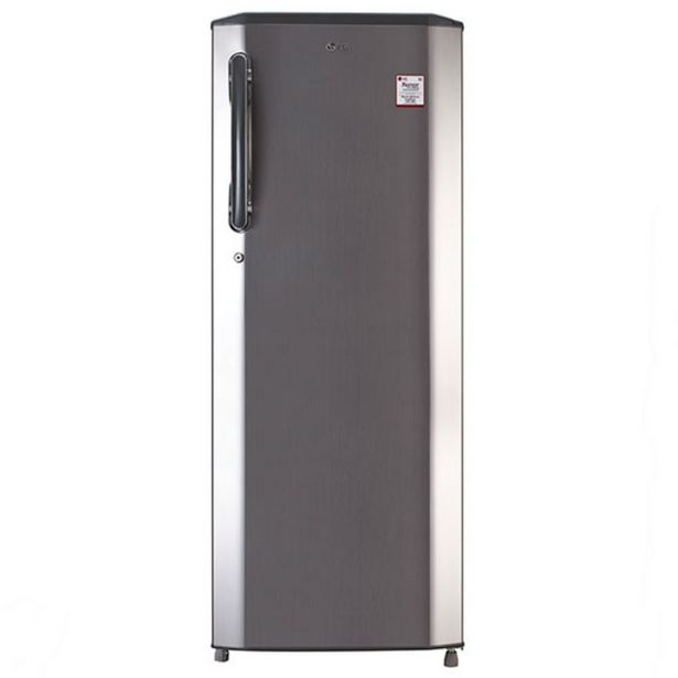 LG GLB281BPZX 270Ltr Direct Cool Refrigerator (Shiny Steel) offer at ? 24290