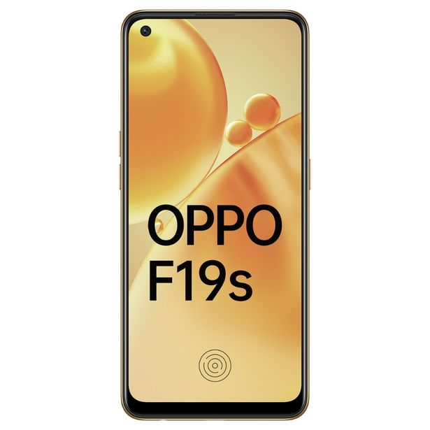 Oppo F19s (6 GB RAM, 128 GB ROM, Glowing Gold) offer at ? 19990