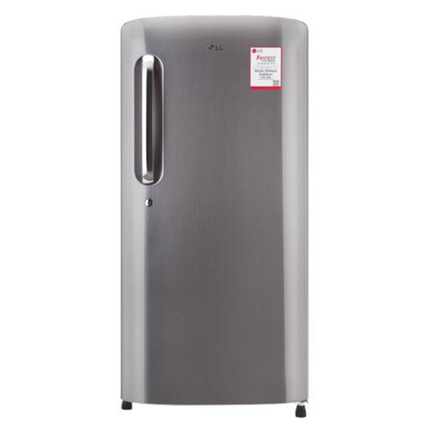 LG GLB221APZY 215Ltr Direct Cool Refrigerator (Shiny Steel) offer at ? 17290