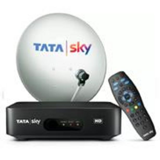 Tata Sky HD Set Top Box with One Month Hindi Lite Pack offer at ? 1699