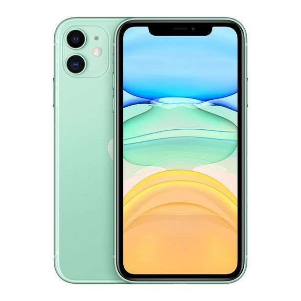 Apple iPhone 11 (128 GB, Green) offer at ? 54890