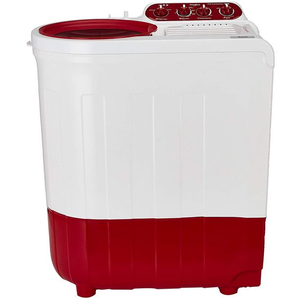 Whirlpool Ace 7.0 Supreme Plus 7Kg Semi Automatic Washing Machine (Coral Red) offer at ? 11250
