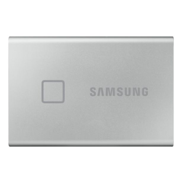 Portable SSD T7 Touch USB 3.2 500GB (Silver) offer at ? 9999