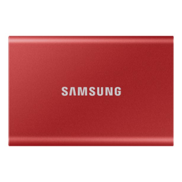 Portable SSD T7 USB 3.2 500GB (Metallic Red) offer at ? 6999