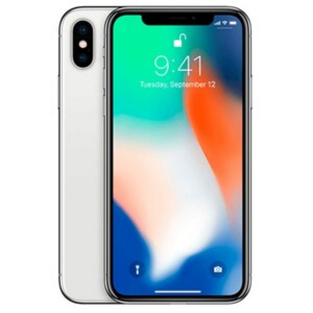 Apple iPhone X 64GB Silver offer at ? 40000